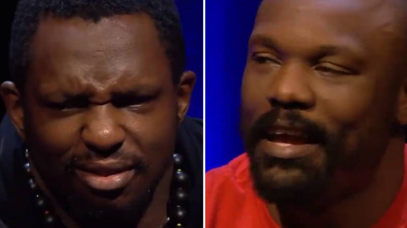 Dereck Chisora's Smack Talk To Dillian Whyte Is Absolutely Sh*t