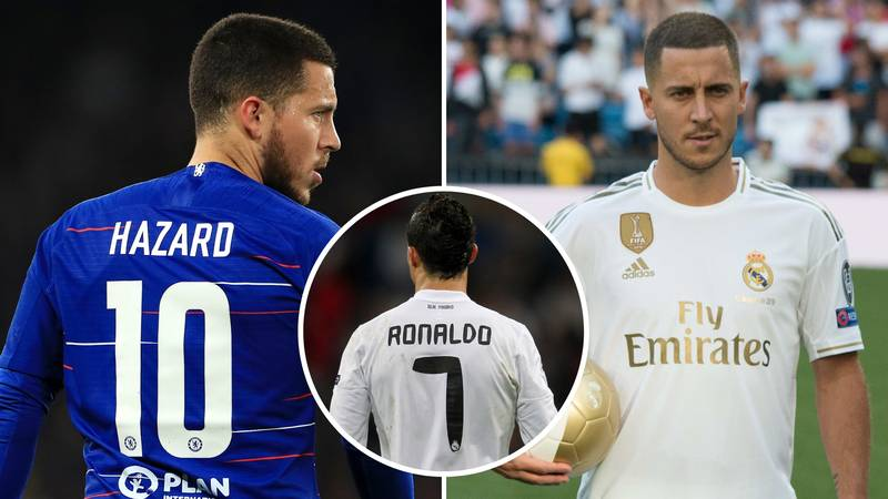 Eden Hazard Won't Receive No 7 Shirt At Real Madrid And Will Pick No 23 Instead