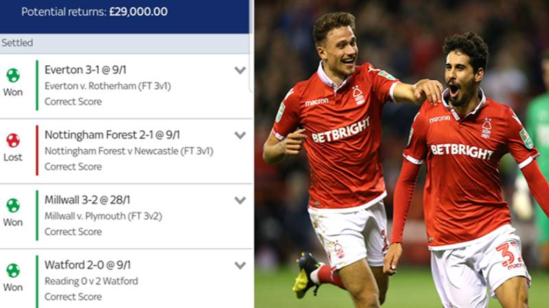 Punter Misses Out On £29,000 After Nottingham Forest's Third Goal Over Newcastle United