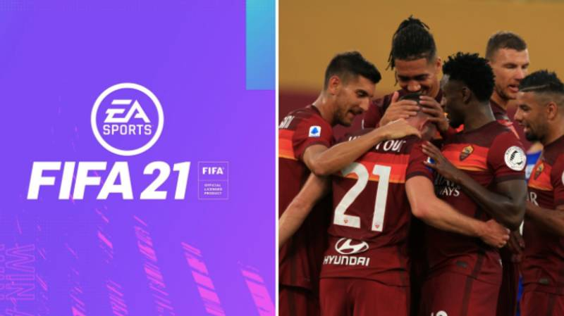 AS Roma's New Name And Badge On FIFA 21 Revealed