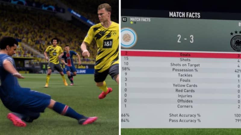 EA Sports Told A Fan 'Scripting' Doesn't Exist In FIFA 21