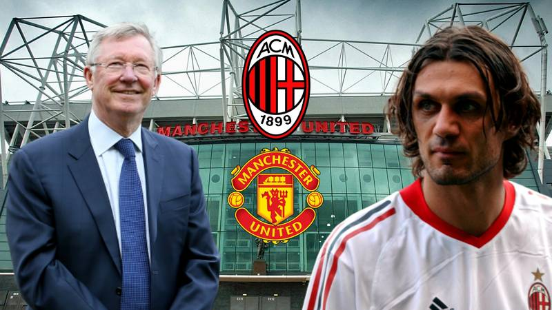 What Happened When Sir Alex Ferguson Tried To Sign Paolo Maldini For Manchester United