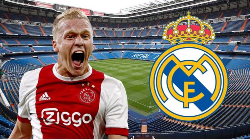 Real Madrid Have Bid Accepted For Ajax's Donny van de Beek