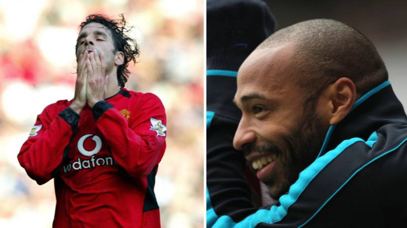 Arsenal Legend Thierry Henry Used To Make Ruud van Nistelrooy 'Sad' At Manchester United