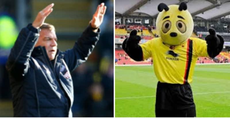 Sam Allardyce Blasts Watford's Mascot For Taking The Piss Out Of Zaha