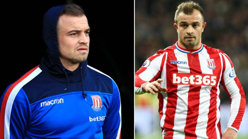 Stoke City's Xherdan Shaqiri Is Available For A Cut-Price Deal