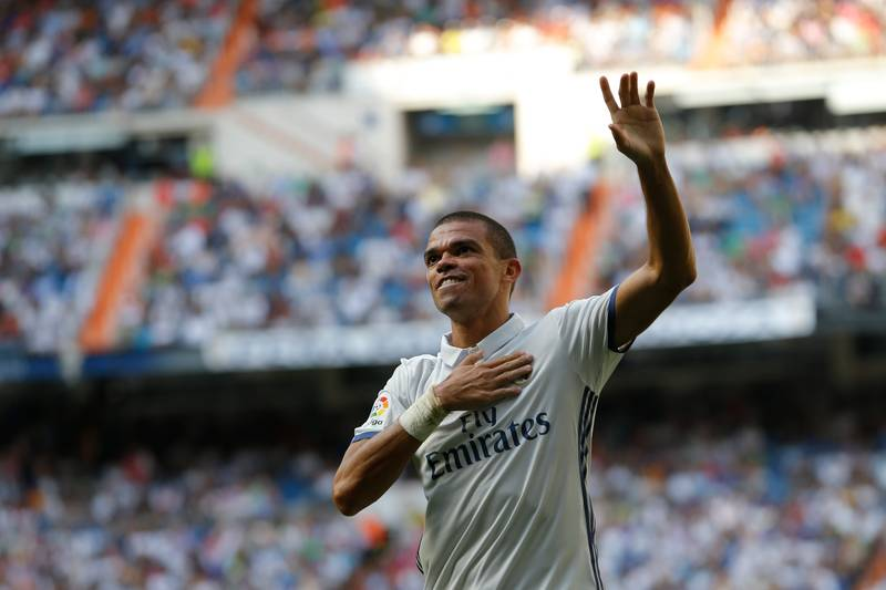Real Madrid's Pepe Is Wanted By Premier League Quartet