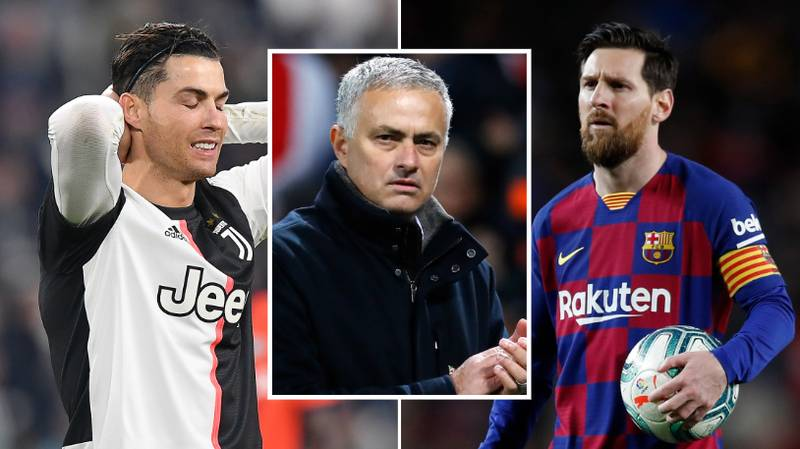 Jose Mourinho Names The Best Player Of All Time - It's Not Cristiano Ronaldo Or Lionel Messi