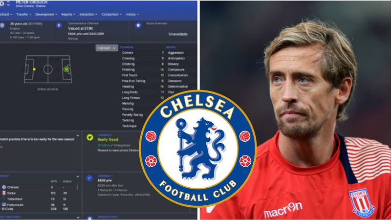 What Happens If Peter Crouch Joins Chelsea On Football Manager