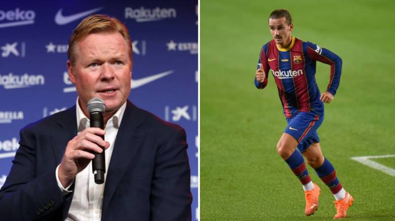 How Ronald Koeman Has Already Made Antoine Griezmann Unhappy