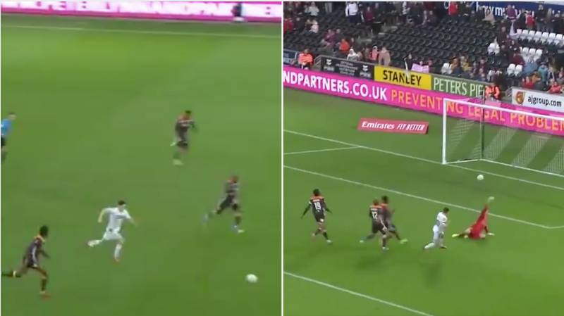 Swansea City's Daniel James Is Genuinely One Of The Quickest Players In World Football