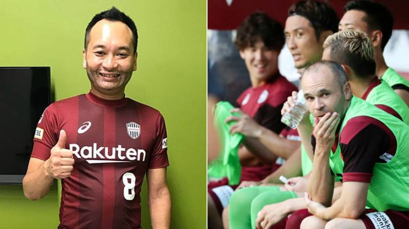 FC Tokyo Hire 'Andres Iniesta Impersonator' After He Was Ruled Out With Injury