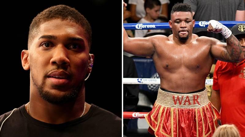 Anthony Joshua Could Secure A Record Payday Against Jarrell Miller