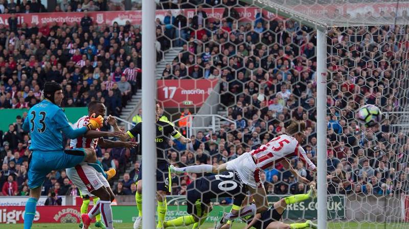 Peter Crouch Strikes Gold With Tweet Following Blatant Handball Goal