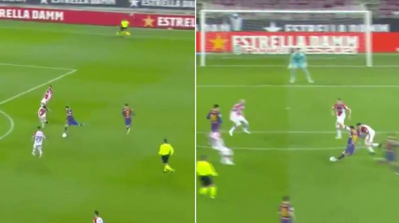 Lionel Messi Scores Absolute Rocket In 5-1 Thrashing Of Alaves