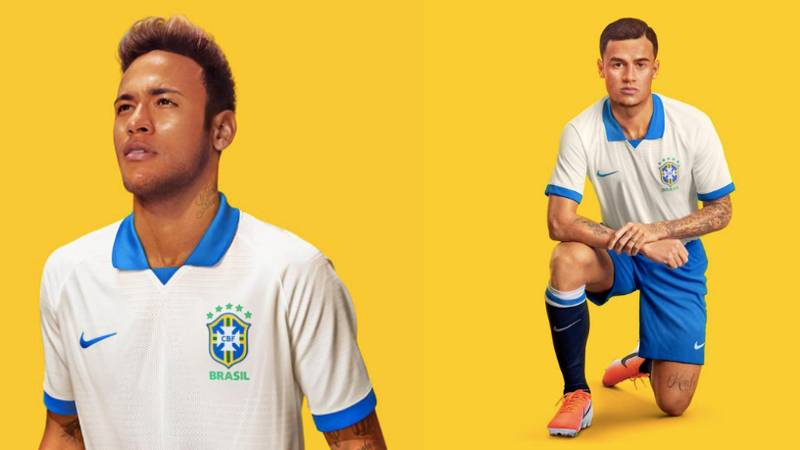 Nike Launch Beautiful Retro White Brazil Kit To Celebrate 100th Anniversary Of Copa America