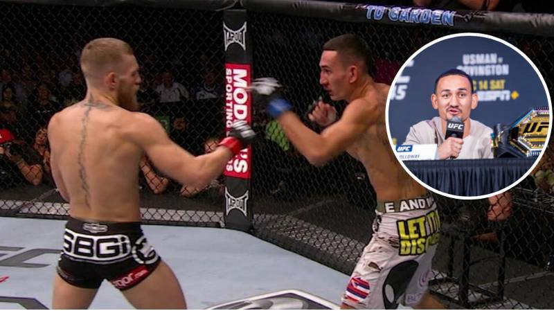 Max Holloway Reveals What Conor McGregor Needs To Do To Fight Him Again