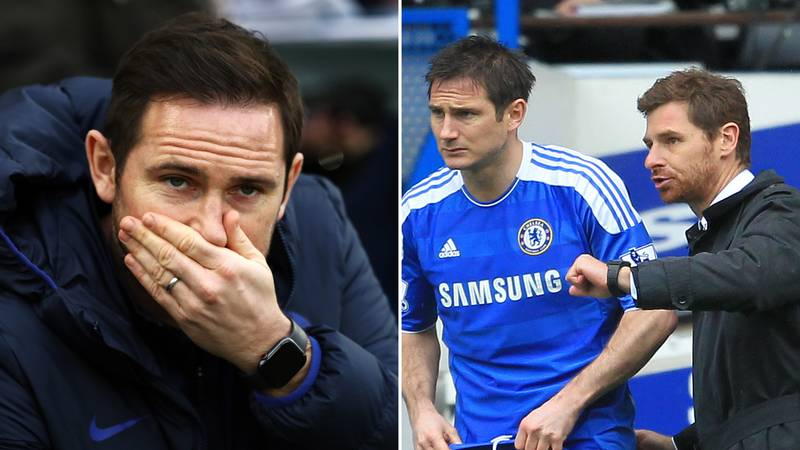 Frank Lampard's Comments About Andre Villas-Boas Have Re-Emerged Following Chelsea Sacking