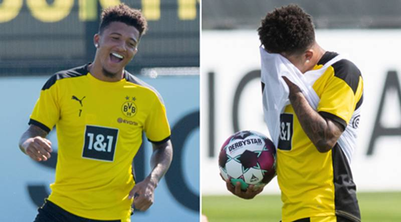 Borussia Dortmund Offer Jadon Sancho New Contract To Fend Off Interest From Manchester United
