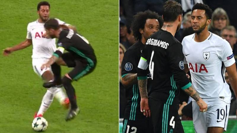When Mousa Dembele Showed Everyone How To Deal With Sergio Ramos Properly