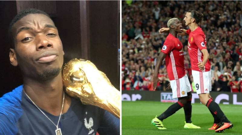 Zlatan Ibrahimovic's Post World Cup Message To Paul Pogba Sums Up His Tournament Perfectly
