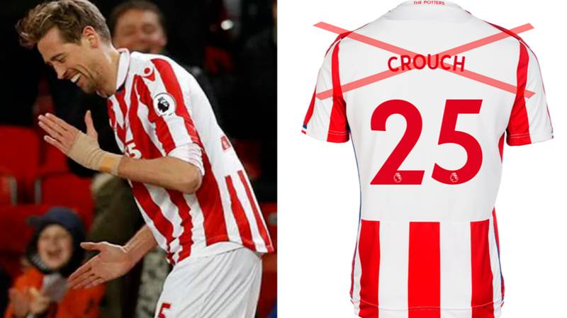 Peter Crouch 'Made Inquiries' To Change Name On The Back Of His Shirt This Season