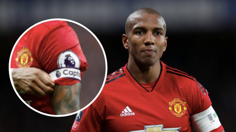 Ashley Young Is Expected To Become Manchester United's Club Captain Next Season