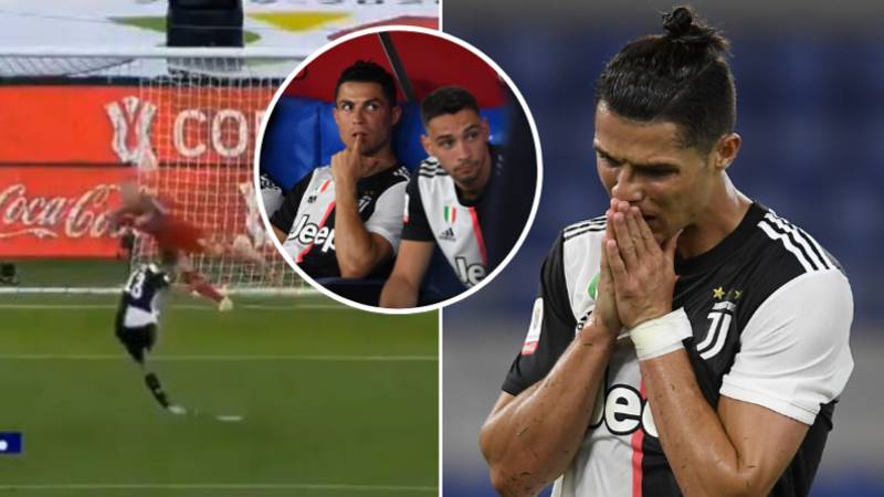 Cristiano Ronaldo Branded 'The Most Selfish Footballer Ever' After Not Taking A Penalty Last Night