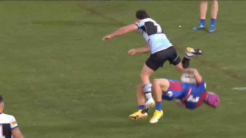 Chad Townsend To Miss Rest Of The Season After Monster Hit On Kalyn Ponga