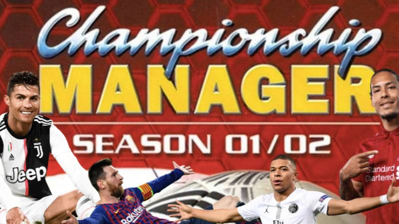 You Can Play Championship Manager 01/02 With Updated Squads From The Current Season