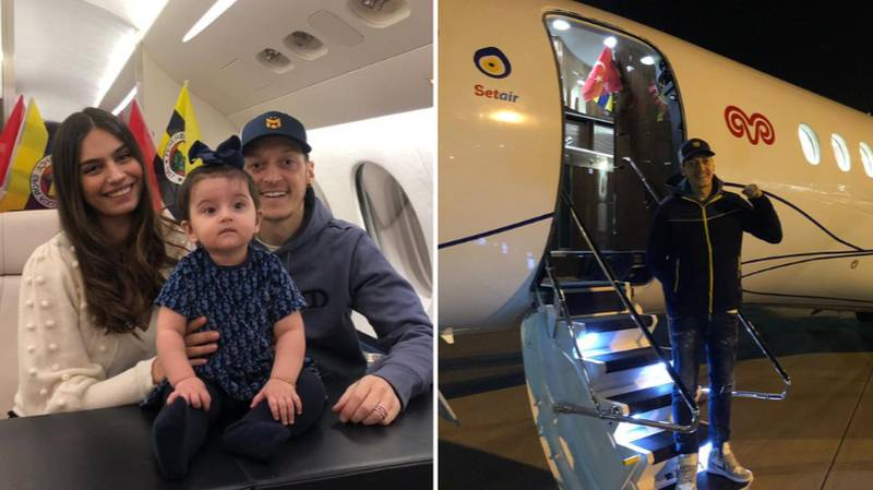 More Than 300,000 People Track Mesut Ozil's Flight To Istanbul