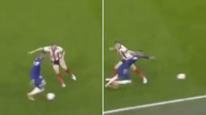 Hakim Ziyech Destroyed Ben Osborn With Savage Piece Of Skill During Chelsea Vs Sheffield United