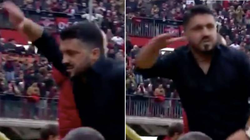 Gennaro Gattuso's Reaction To 95th Minute Goal Is The Most Gennaro Gattuso Thing Ever