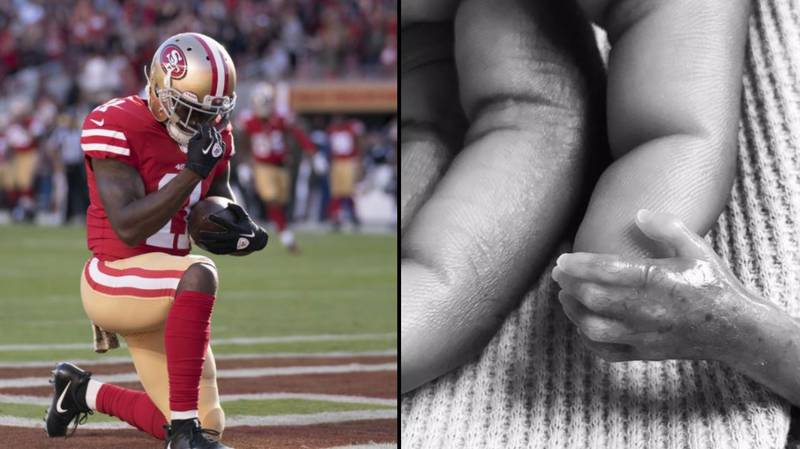 NFL Player Scores Emotional Touchdown Just Hours After Baby Son Tragically Died