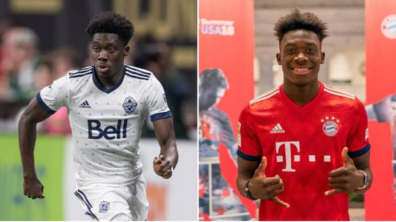 Championship Side Almost Signed Alphonso Davies For Just £3 Million In 2017