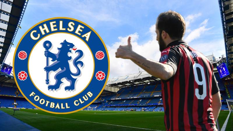 Gonzalo Higuaín's Pay Package At Chelsea Has Been Revealed