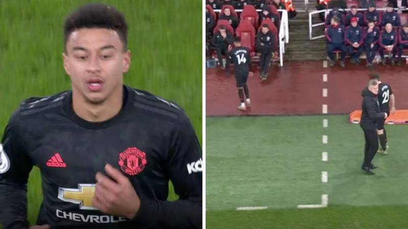 Jesse Lingard's Performance Against Arsenal Is Torn Apart In Commentator's Brutal Analysis