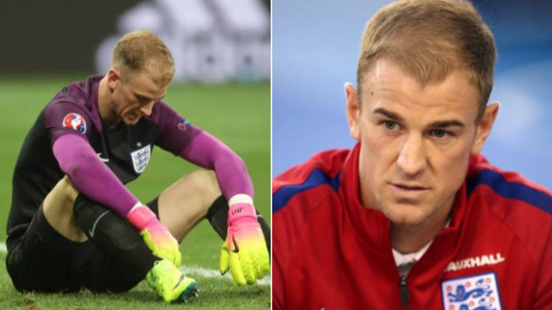 Joe Hart 'Gutted' About England Omission, Opens Up On Instagram