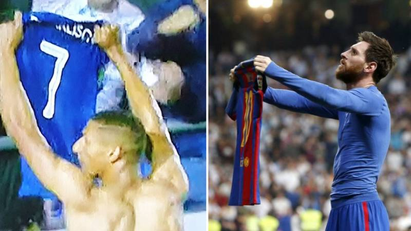 Richarlison Gets The Lionel Messi Shirt Celebration All Wrong