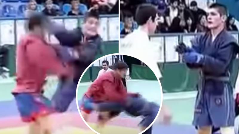 Rare Footage Of 17-Year-Old Khabib Nurmagomedov Suffering His One And Only Defeat In Amateur Fight