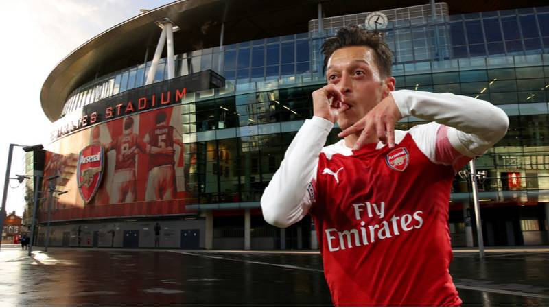 Mesut Ozil Is An 'Arsenal Legend' And Could Deserve A Statue, Claims Pundit