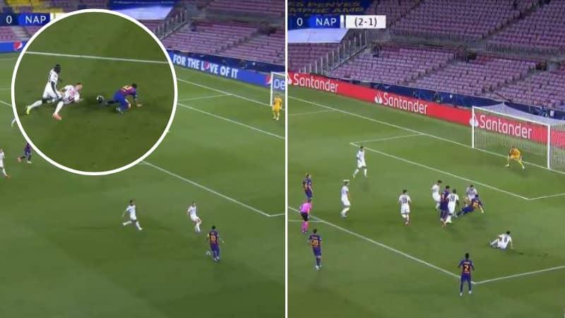 Lionel Messi Scores Incredible Solo Goal Against Napoli