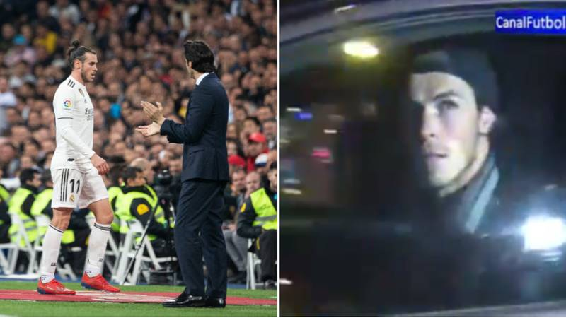 Real Madrid's Gareth Bale Left The Bernabeu Before El Clasico Had Finished