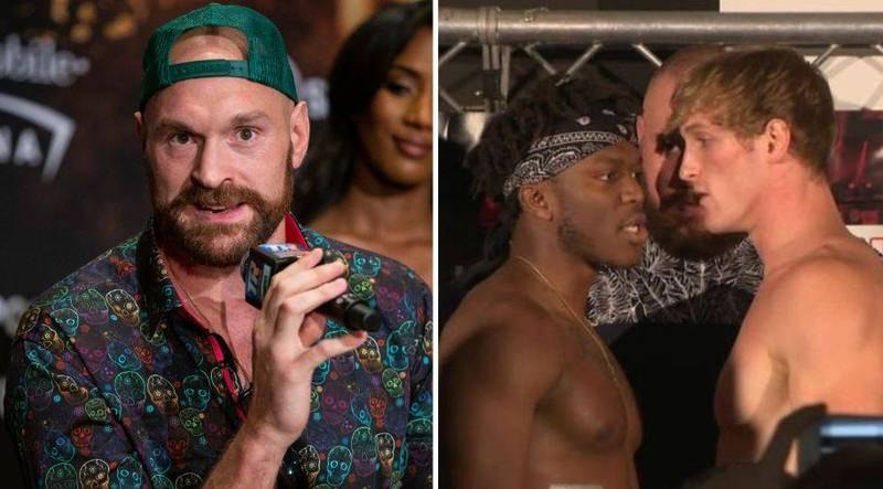 Tyson Fury Gives His Honest Views On KSI Vs Logan Paul Rematch