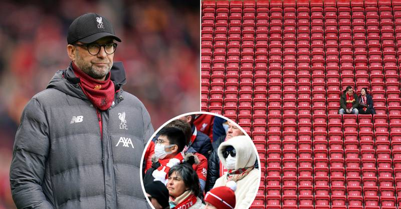 Liverpool Officials Fear Premier League Title Win Will Take Place Behind Closed Doors