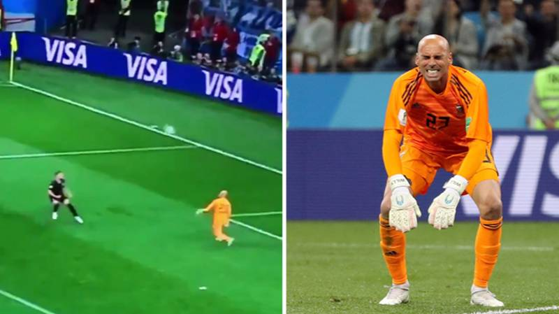 Watch: Willy Caballero Produces One Of The Worst Errors In World Cup History