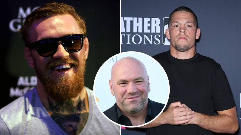 Nate Diaz Is Now A 'Conor McGregor-Level' UFC Star, Says Dana White