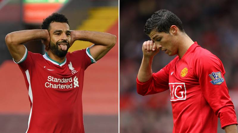 Mohamed Salah Has Already Outperformed Cristiano Ronaldo's Greatest Seasons At Manchester United