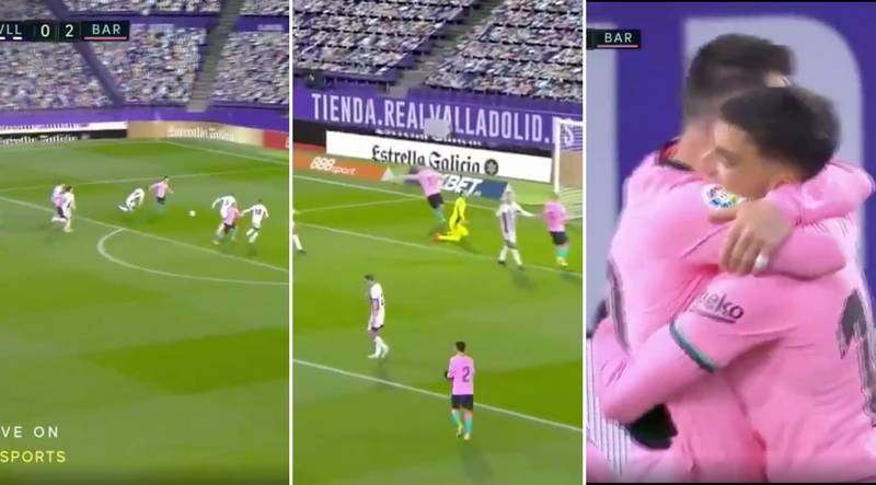 Lionel Messi Scores 644th Barcelona Goal To Break Pele's Record For Most At A Single Club