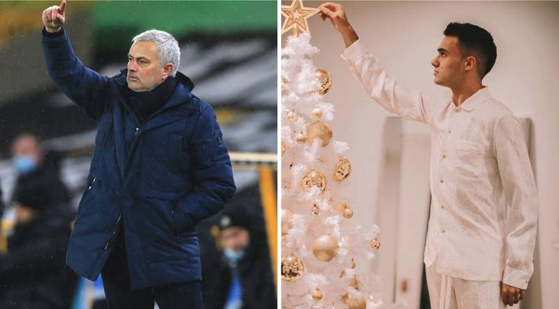 Jose Mourinho Shows His Class With Christmas Gesture To Lonely Spurs Ace